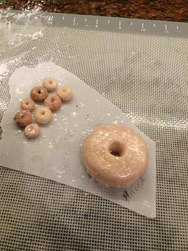 fondant glazed doughnuts