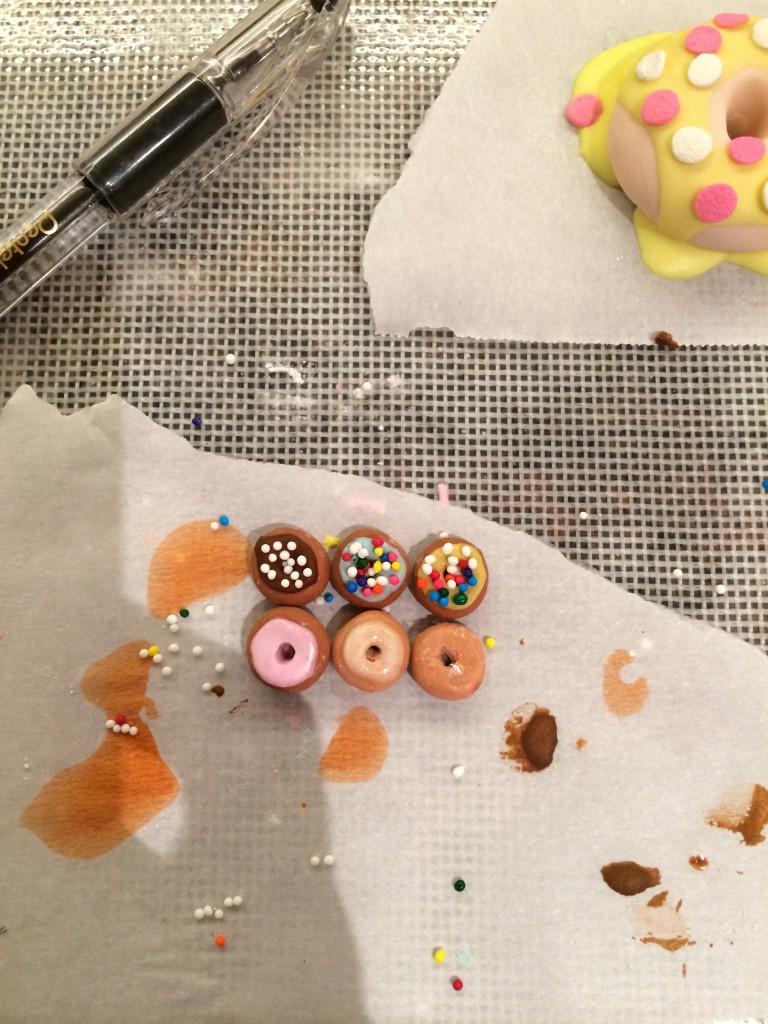 fondant doughnuts