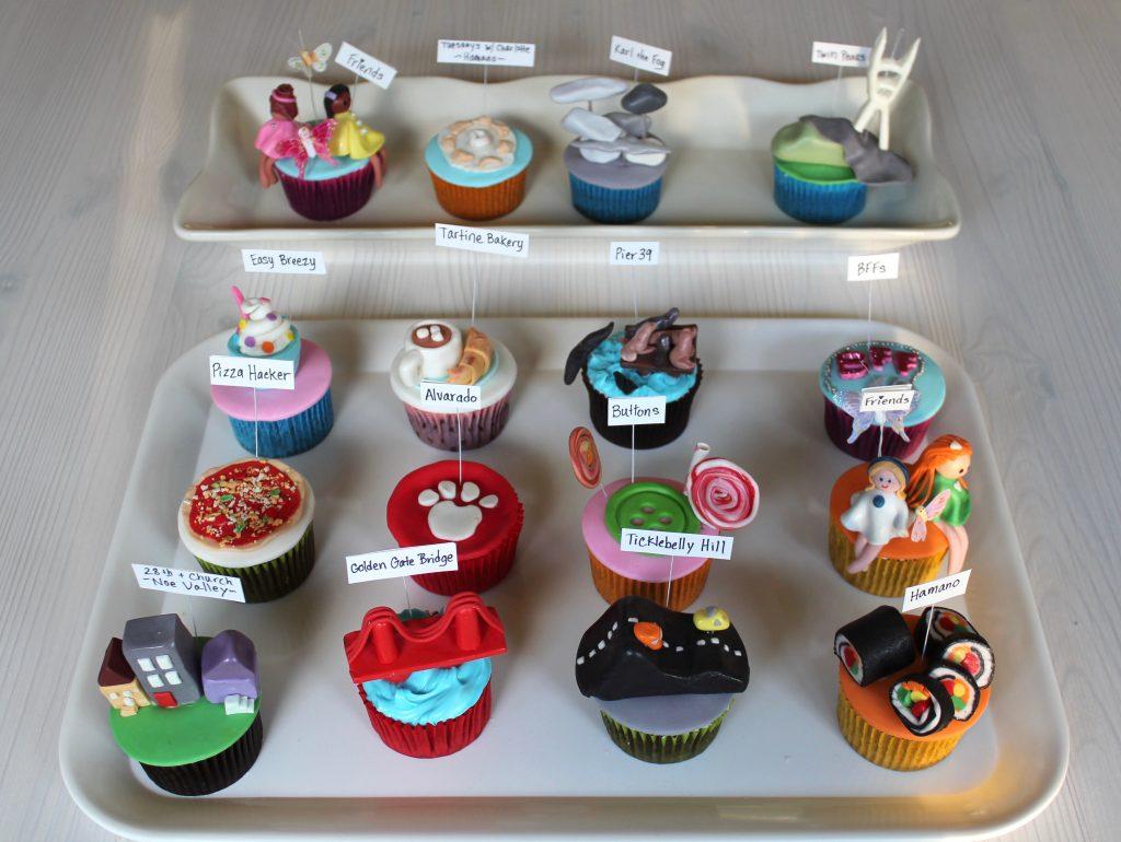 San Francisco cupcakes